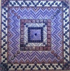 Color Delights Periwinkle - Needlepoint Pattern