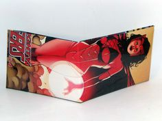 Last Minute Stocking Stuffer Sale// Comic Book Wallet// Scarlet Witch, $3.00
