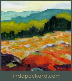 Linda Packard's use of color takes my breath away.  www.lindapackard.com