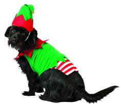 Pet Costume Elf Xs