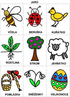 Pro Šíšu: Rocni obdobi - obrazky Aurora, Spring Crafts, Adult Coloring Pages, Book Activities, Educational Toys, Diy And Crafts, Jar, Teaching, Children