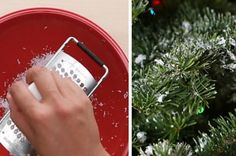 Let It Snow On Your Christmas Tree With This Neat Trick