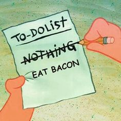 you gotta have priorities