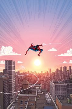 The Amazing Spider-Man Vol. 4 #19 Variant - Aaron Kuder, Colors: Morry Hollowell