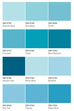 sherwin williams sw6777 carefree sw6778 aviary blue sw6779. Black Bedroom Furniture Sets. Home Design Ideas