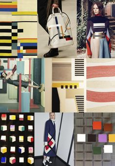 F/W 2017-18 women's pattern & colors trends: Bauhaus adaptiv