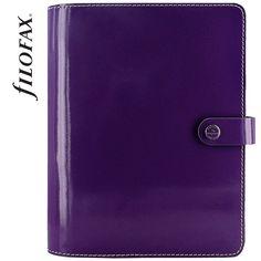 Filofax The Original A5 Patent Purple