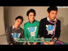 [ENG SUB] NII 2012 Autumn Collection Filming - JYJ Talk (PrinceJJ)