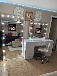 Cute Bedroom Decor, Bedroom Decor For Teen Girls, Room Design Bedroom, Teen Room Decor, Stylish Bedroom, Room Ideas Bedroom, Home Room Design, Small Room Bedroom, Pinterest Room Decor