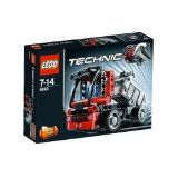 Black Friday 2014 LEGO Technic Mini Container Truck 8065 from LEGO Cyber Monday. Black Friday specials on the season most-wanted Christmas gifts. Lego Technic Sets, Building For Kids, Building Toys, Pick Up, Toy Containers, Container Truck, Lego Mindstorms, Lego Construction, Lego Toys