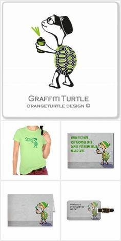 Graffiti Turtle