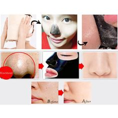 Blackhead Face Mask Purifying Deep Clean Peel off Black Mask Black Head Remover Pore Strip Face Mask Peeling Acne Treatments 1PC