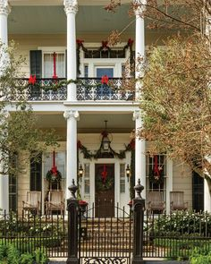 New Orleans Christmas Home Tour