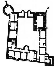 Tolquhon Castle, Plan, Aberdeenshire, Scotland, 1584-1589