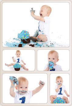 cake smash photography - Google Search