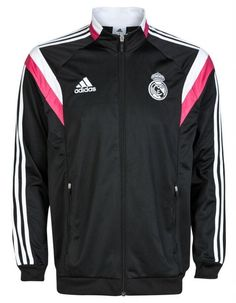 Real Madrid 2014 Black Pink Training Jacket Chandal Real Madrid 32d017fc8d5b5