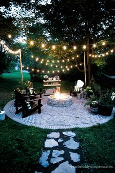Before you invest in any landscape lighting, ask yourself what your purposes are for need lighting in your yard. Garden Before you invest in any landscape lighting, ask yourself what your purposes are for need lighting in your yard. Fire Pit Seating, Fire Pit Area, Backyard Seating, Backyard Patio Designs, Fire Pit Backyard, Backyard Landscaping, Deck Patio, Patio Table, Landscaping Ideas