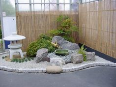 Japanese Water Basin Arrangement