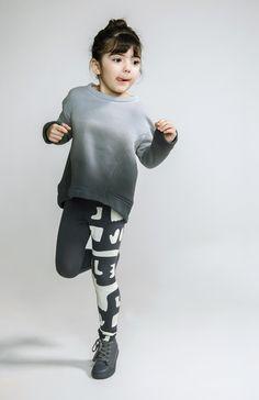 OM108 | Ombre structured sweatshirt — OMAMImini Los Angeles