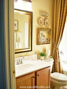 A Stroll Thru Life: Pulling It All Together - Hall Bathroom Makeover