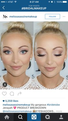 LIEBE das Leuchten in diesem Make-up. Die pfirsichfarbenen Farben passen so gut zu … – Abschlussball Make Up LOVE the glow in this makeup. The peach-colored colors are so great for … – Prom Make Up – Natural Wedding Makeup, Bridal Hair And Makeup, Prom Makeup, Wedding Hair And Makeup, Hair Makeup, Bridesmaid Makeup Natural, Wedding Guest Makeup, Homecoming Makeup, Bridal Makeup For Blue Eyes Blonde Hair