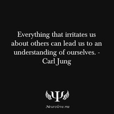 A wise quote by Carl Jung about irritating people