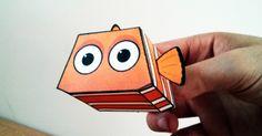 Papertoy Nemo de Paper Minions  Vous avez aimé Le monde de Nemo le film ?! Vous aimerez Nemo le papertoy ! Très facile à assembler, ce jouet en papier est issu de la collection de Paper Minions, entièrement consacré à l'univers Pixar. Un 2060ème paper toy à télécharger dans la suite de notre billet…  http://www.paper-toy.fr/2013/12/10/nemo-paper-minions/  #Disney #Pixar #papertoys #papercraft #paper #arts #toys #DIY