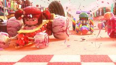 "Look: Disney Created 'Wreck-It Ralph' ""Sugar Rush"" Concept Designs Out of Real Candy 
