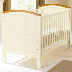 Henley Cotbed in Cream and Natural babies r us  129.99 146x80x96