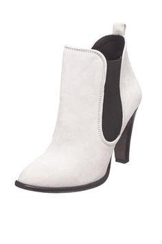 Venda Calçado adulto e criança / 28592 / Buffalo / Botins de couro Branco e preto