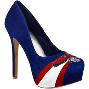 Atlanta Hawks Ladies Suede Pumps - Navy Blue ||||||||||| BLACK FRIDAY SALE: Nevermind waiting in line! 25% OFF + FREE SHIPPING on all orders over $50! Hurry, inventory is very limited! Use code: BLKFRI