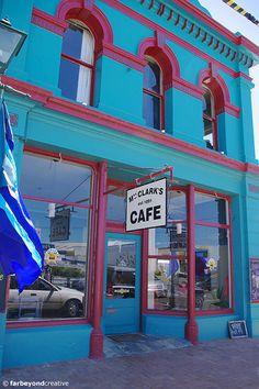 Café Riverton Main Street Main Street, New Zealand, Maine, Australia, Urban, City, City Drawing, Cities