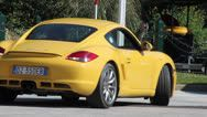 Stock Video Footage of Porsche In Motion