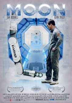 High resolution official theatrical movie poster ( of for Moon Image dimensions: 800 x Directed by Duncan Jones. Kevin Spacey, Duncan Jones, Moon Film, Film Science Fiction, Fiction Movies, Image Internet, I Love Cinema, Movie Info, Fantasy