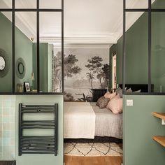 Merci @ateliercvd pour cette jolie photo de votre travail, belle harmonie de couleurs 💚 Architecte d'intérieur Caroline...