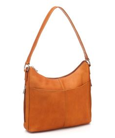 Another great find on #zulily! Tan Bella Hobo by Le Donne, $65 !!  #zulilyfinds