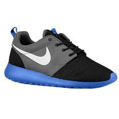 super popular a8094 f988e Nike Roshe Run - Grey blue Black Nike Running, Scarpe Da Corsa,
