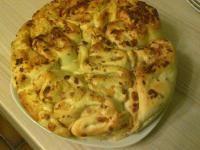 Rezept Flammfalte oder Flammkuchen - Faltenbrot von Puschl - Rezept der Kategorie Backen herzhaft