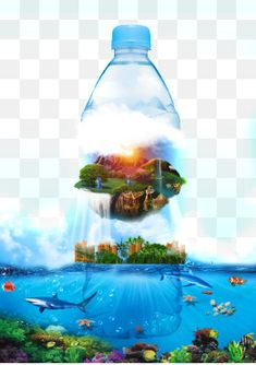 광천수 광고,심해,심해 미네랄,물,바다,천연 미네랄,광천수,광천 물병 Nature 3d, Aquarium, Goldfish Bowl, Aquarium Fish Tank, Aquarius, Fish Tank