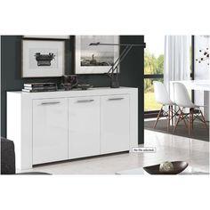 Home Est White Sideboard Dining Storage Unit Living Room Cupboards, Living Room Tv, Dining Room, Buffet, G Floor, White Sideboard, Dcor Design, Tv Unit, Storage Drawers