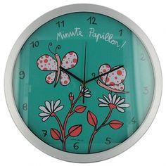 "Horloge ""Minute Papillon !"""