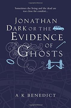 Jonathan Dark or The Evidence Of Ghosts -Maria King knows a secret London. Born blind, she knows the city by sound and touch and smell. But surgery has restored her sight - only for her to find she doesn't want it.  Jonathan Dark sees the shadowy side of the city. A DI with the Metropolitan Police, he is haunted by his failure to save a woman from the hands of a stalker. Now it seems the killer has set his sights on Maria, and is leaving her messages in the most gruesome of ways.
