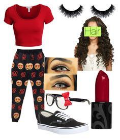 """Untitled #23"" by saunders097 on Polyvore featuring LE3NO and Vans"