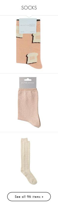"""SOCKS"" by fran-peeters ❤ liked on Polyvore featuring intimates, hosiery, socks, hansel from basel socks, crew socks, patterned hosiery, cotton socks, cotton crew socks, shimmer hosiery and olive green socks"