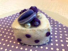 borůvkový dortík