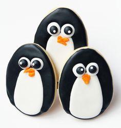 Worth Pinning: Penguin Sugar Cookies