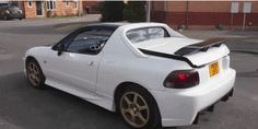 I Am Transfixed By The Honda Del Sol's Weird Transtop Roof