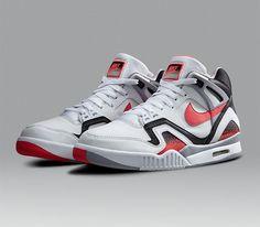 "5bc0ab644c86a5 Nike Air Tech Challenge II ""Hot Lava"". LavaRetro SneakersShoes ..."