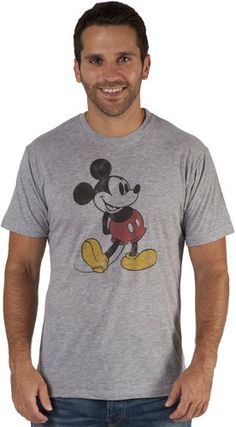 Distressed Mickey Mouse Shirt...for Eric.