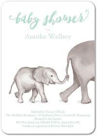 Baby Invitations & Photo Baby Shower Invitations   Tiny Prints